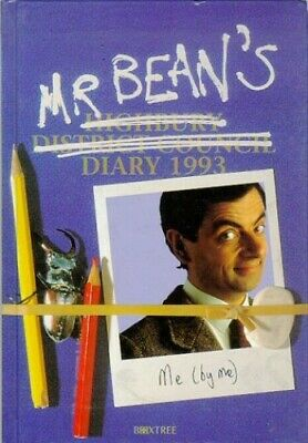 Mr. Bean's Diary 1993 by Driscoll, Robin Paperback Book The Cheap Fast Free Post