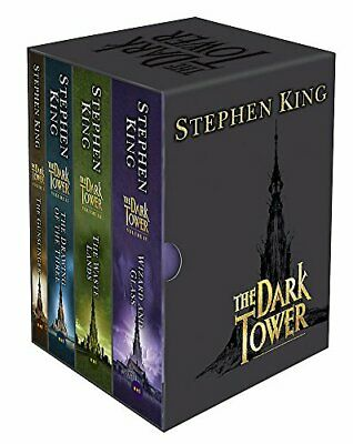 The Dark Tower Boxed Set: Vols I-IV: v. 1-1v by King, Stephen Paperback Book The