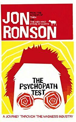 The Psychopath Test by Ronson, Jon Hardback Book The Cheap Fast Free Post