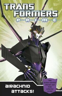 Transformers Prime: Airachnid Attacks!: Book 4 (Trans... by Hasbro Entertainment