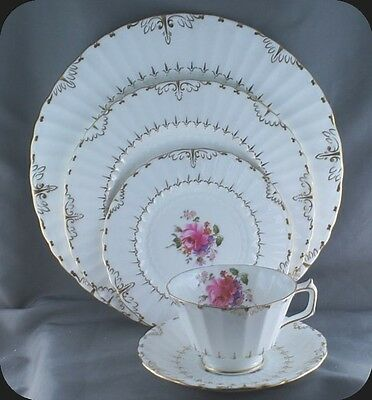Royal Crown Derby Ashby 5 Piece Place Setting (Two Sets available)