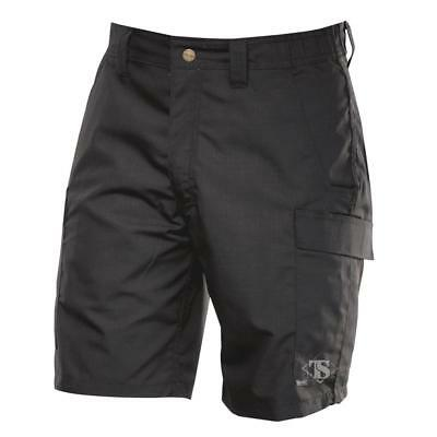 Tru-Spec 4231 Mens Simply Tactical Cargo Shorts, Rip-Stop, Black