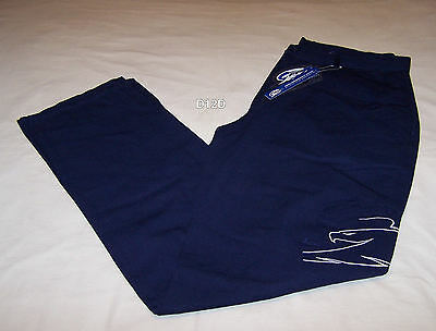 Ford Performance Racing FPR Mens Navy Blue Casual Team Work Pants Size 117 New