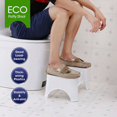 Eco Toilet Potty Stool Healthy Sit and Squat BathroomMost Comfort AU POST