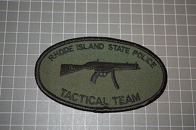Rhode Island State Police Tactical Team Patch (B9)