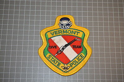 Vermont State Police Dive Team Patch (T3)