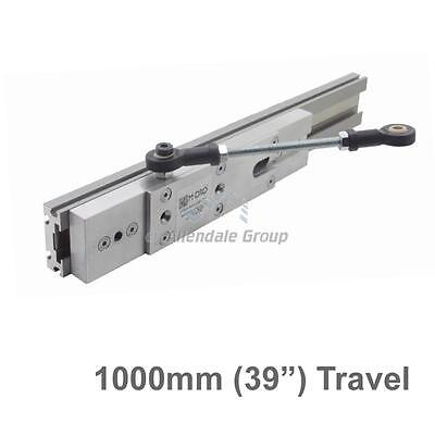 "1000mm (39"") Guided Carriage and Linear Rail for M-DRO Magnetic Encoders"