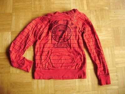 @ Only @ Kapuzenpullover Sweatshirt rot True Collection Gr. 134/140 Age 9 - 10