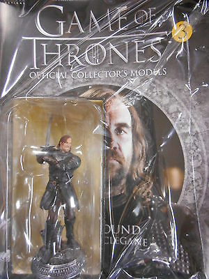 """Game Of Thrones Collector's Models #3 """"the Hound"""" (Eaglemoss) New"""