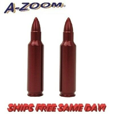 A-Zoom Precision Metal Snap Caps for 338 Win Mag  #12230 New!