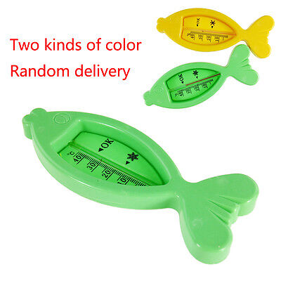 ABS Fish shape Baby Infant Shower Bath Water Safety Thermometer