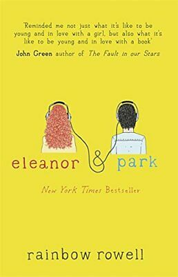 Eleanor & Park, Rowell, Rainbow Book The Cheap Fast Free Post