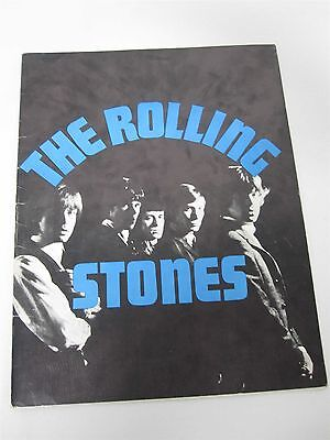 1964 The Rolling Stones Original Very First American Tour Program