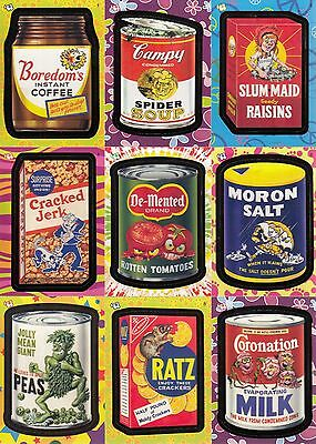 Wacky Packages Flashback Series 1 2008 Topps Complete Base Card Set Of 72 Sf