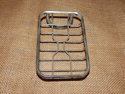 Mid Century VIntage Chrome spring attached Soap Dish