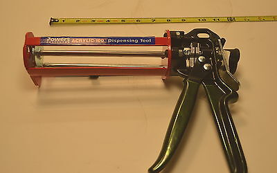 NEW POWERS Acrylic Manual Dispensing Tool # 08484, List: $215 USD WR.12.C.F.3