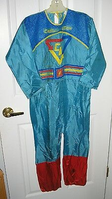 RARE 1966 Ben Cooper CAPTAIN ACTION Halloween Costume Bodysuit - No Mask/Box