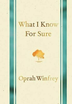 What I Know for Sure by Winfrey, Oprah Book The Cheap Fast Free Post