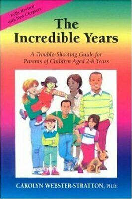 The Incredible Years by Webster-Stratton, Carolyn Paperback Book The Cheap Fast