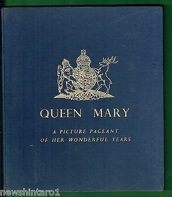 #aa7. Queen  Mary Pictorial  Book. About 1950