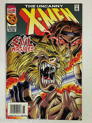 The Uncanny X-Men #326 Comic Book Marvel 1995 - Newsstand Edition