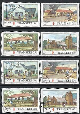 Transkei 1983 Mnh & Used Cto Post Office Sets