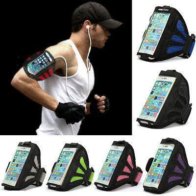For Apple iPhone 5s, 5 Running Sports Jogging Gym Case Cover Armband