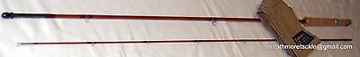 "Rare Vintage Sharpe's for Farlow The Elf cane rod 6' 10"" 2pce #5 Excellent"
