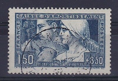 Rc004559 France 252 Type Iii - Travail Caisse D'amortissement Obl Tb  Cote 180€