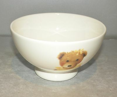 NEW Coffee Bowls Ours ( Bears ) Pattern From  GIEN France