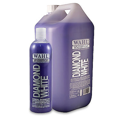 Wahl Showman Diamond White Professional Shampoo for Horses / Natural Concentrate