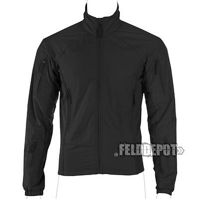 UF Pro ® Hunter FZ Jacket schwarz black Light-Shell Cocona® Mikrofleece