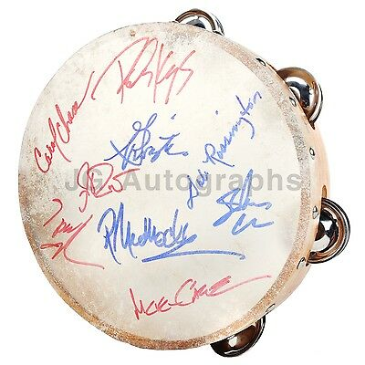 Lynyrd Skynyrd - Southern Rock Legends - Autographed Tambourine - Signed by 9