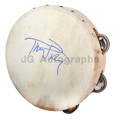 Tom Petty - Classic Rock Musician - Authentic Autographed Tambourine