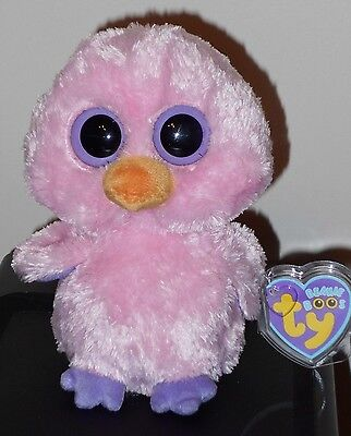 "Ty Beanie Boos ~ POSY the 6"" Pink Baby Chick ~ MINT with MINT TAGS ~ RETIRED"