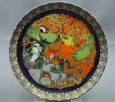 "No. 7 VII- 6 1/2"" Bjorn Wiinblad for ROSENTHAL Germany Aladdin Magic Lamp Plate"
