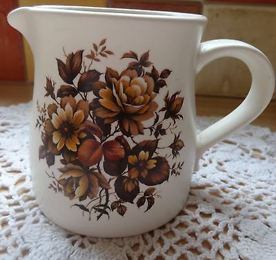"3.5"" Purbeck Pottery Floral Design Jug – Poole"
