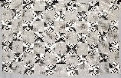 African mud cloth bogolan bambara bogolanfini new Africa bamana fabric n808