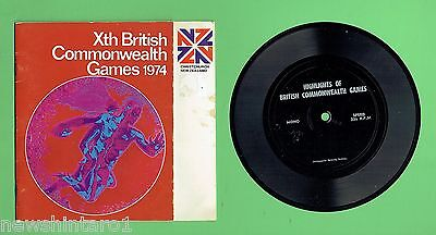 #t64.  Highlights Of The 1974 British Commonwealth Games Record