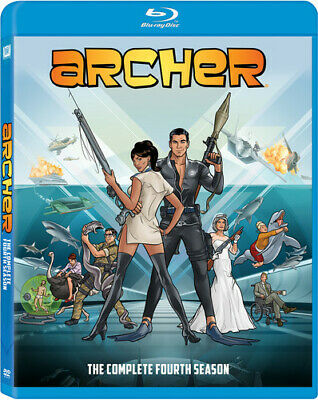 Archer - Archer: The Complete Season Four [New Blu-ray] 2 Pack, Ac-3/Dolby Digit