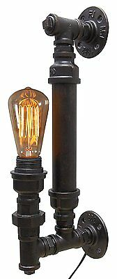 Vintage Unique Style Industrial Rustic Copper Steampunk Wall Light B1002