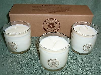 Partylite Brighter World Scented Candle Trio #1 -- LOOK!