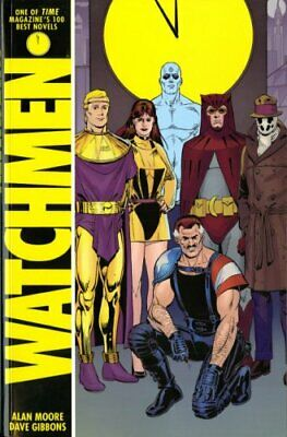 Watchmen, Gibbons, Dave Paperback Book The Cheap Fast Free Post