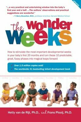 The Wonder Weeks: How to stimulate your bab... by van de Rijt Ph.D., H Paperback