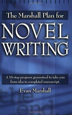 Marshall Plan for Novel Writing by E Marshall Paperback Book The Cheap Fast Free