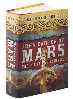 *New Hardcover* JOHN CARTER OF MARS: The First Five Novels Edgar Rice Burroughs