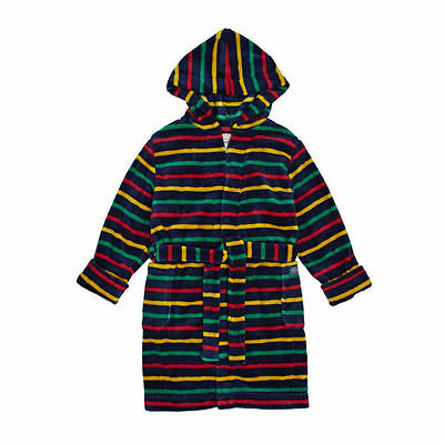 JOULES Roban Stripe Fleecy Dressing Gown Age 3 - 4, 5-6, 7 -8 & 11-12 FreeUKP&P