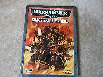 Warhammer 40K Codex Chaos Space Marines Book