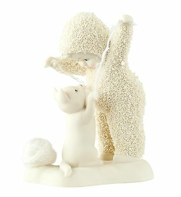 Snowbabies Cat`s Play Figurine NEW  27424