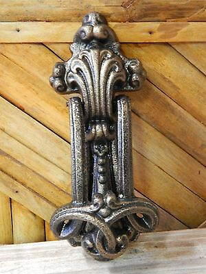 Cast Iron Door Knocker Pattern Unique